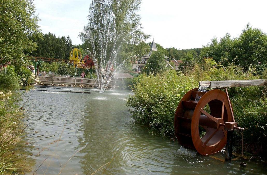 Lochmühle Parkansicht
